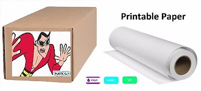 """Professional Gloss Photo Paper 7mil x 24"""" x 100 ft Roll ****BEST OFFER****"""
