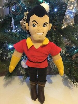 Disney Store Gaston Plush Soft Toy Beauty And The Beast 20""