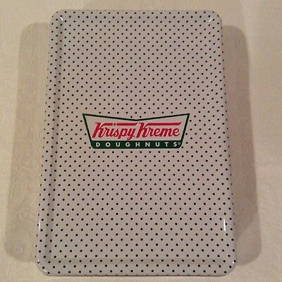 Collectible Krispy Kreme Doughnuts Rectangle Tin Gift Novelty Container