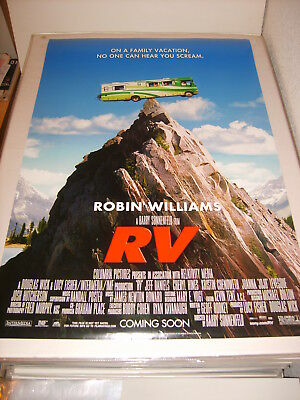 RV ROBIN WILLIAMS (2006) US AUTHENTIC ORIGINAL 27x40 DS MOVIE POSTER (S)