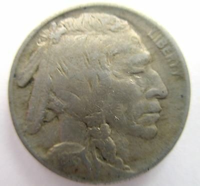US Coin 1913 Buffalo Type Nickel Five-Cent Piece, Philadelphia Mint, Variety 2