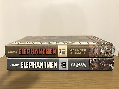 Elephantmen Revised And Expanded Volumes 00 & 01 Hardcover IMAGE