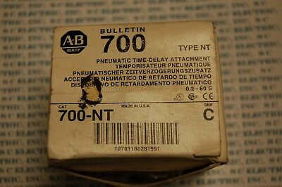 Allen Bradley 700-NT PNEUMATIC TIME-DELAY ATTACHMENT
