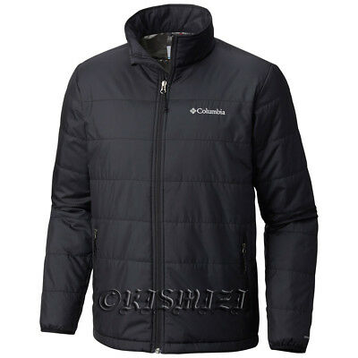 "New Mens Columbia ""Saddle Chutes"" Omni-Heat Insulated Winter Jacket Coat"