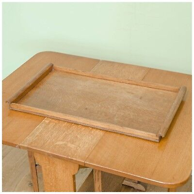 Arthur W. Simpson [The Handicrafts, Kendal]  Arts and Crafts Oak Tray