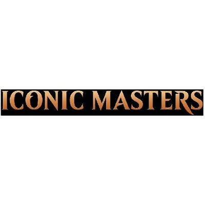 Magic the Gathering Iconic Masters Booster Box Case