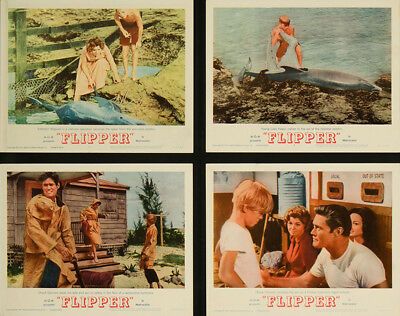 Flipper 1963 11x14 Orig Lobby Card FFF-05707 Very Fine Chuck Connors
