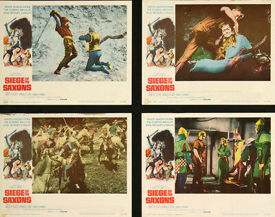 Siege of the Saxons 1963 11x14 Orig Lobby Card FFF-05634 Very Fine Ronald Lewis
