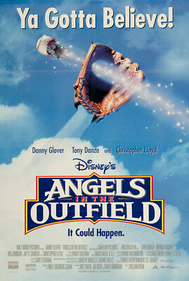 Angels in the Outfield 1994 27x41 Orig Movie Poster FFF-05282 Near Mint Disney