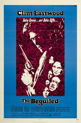 The Beguiled 1971 27x41 Orig Movie Poster FFF-02415 Near Mint, Very Fine