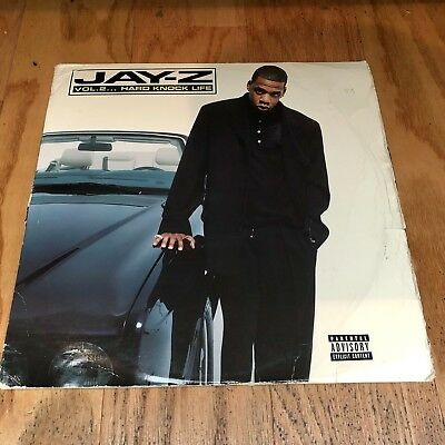 Jay-Z ‎– Vol. 2... Hard Knock Life 2xLP VG Vinyl