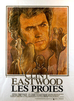 The Beguiled 1971 47x63 Orig Movie Poster FFF-00343 Clint Eastwood