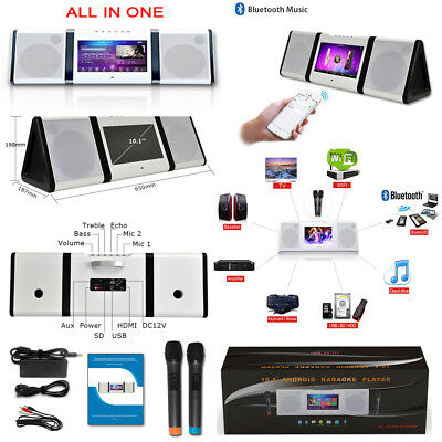 "I-Touch 10"" Portable Touch Screen Karaoke Built In: Wifi, Bluetooth, Hard Drive"
