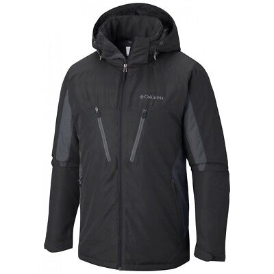 "New Mens Columbia ""Antimony IV"" Waterproof Insulated Winter Jacket Coat"
