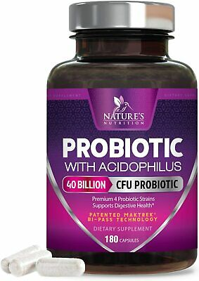 Nature's Nutrition #1 Rated Probiotic