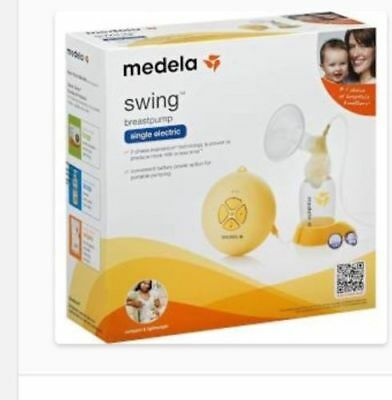 Medela Swing Breastpump Single Electric Breast Pump Kit, 67050 ~ NEW, READ - 684
