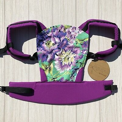 Doll Carrier- Mini Soft Structured Carrier - Plum Posey