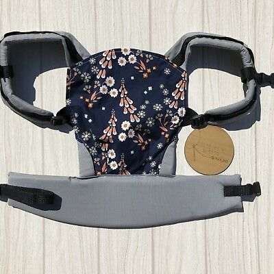 Doll Carrier- Mini Soft Structured Carrier - Fox Glove