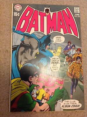Batman 222 Neal Adams Beattles app.!!! CGC it! VF++???