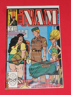 """""""THE 'NAM"""" # 15 comic book RELEASED BY MARVEL COMICS"""