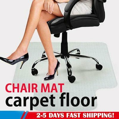 AU Carpet Floor Office Computer Work Chair Mat Vinyl Protector 1200×900mm