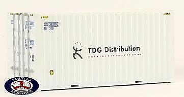 Auscision HO CON-3 20ft Hi-Cube Container TDG Distribution Twin Pack AM10035 Bra