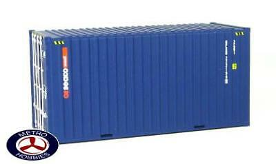 Auscision HO CON-8 20ft Hi-Cube Container GESEACO Small Logo Twin Pack AM10160 B
