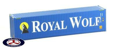 Auscision HO CON-27 Royal Wolf V2 40ft Container Twin Pack AM10230 Brand New