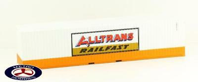 Auscision HO CON-32 Alltrans Railfast 40ft Container Twin Pack AM10253 Brand New