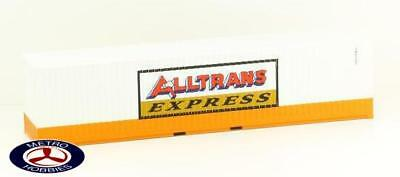 Auscision HO CON-33 Alltrans Express 40ft Orange & White Twin Pack (ERA 1970s to