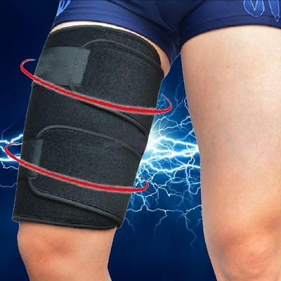 New Thigh Sleeve Leg Compression Hamstring Groin Support Brace Wrap Bandage A+