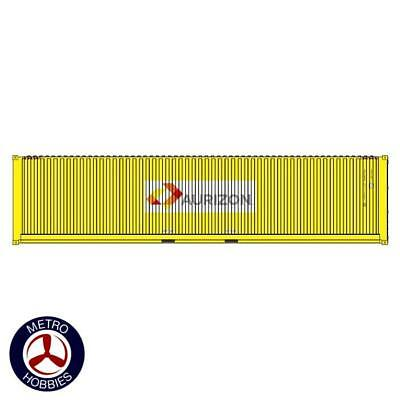 Auscision HO CON-128 40ft Container Aurizon Yellow 2pc AM11447 Brand New
