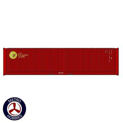 Auscision HO CON-139 40ft Container CARU Specialised Leasing Maroon 2pc AM11458