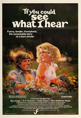 If You Could See What I Hear 1982 27x41 Orig Movie Poster FFF-06110 Near Mint