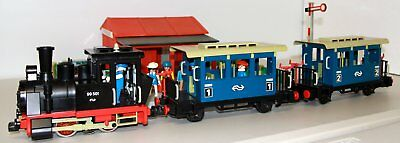 G scale train setup with lots accessories-Playmobil