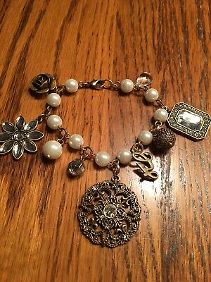 Guess Charm Bracelet, New, No Tags, Pearl