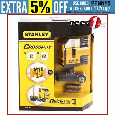 STANLEY Cross90 Self Levelling Laser Level with Bracket & Mounting System