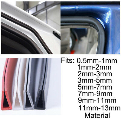 Rubber U Channel Edging Trim Seal 0.5mm~13mm Edge Protection From Metal House