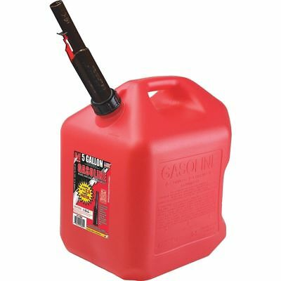Midwest Can 5-Gallon Plastic Gasoline Fuel Can