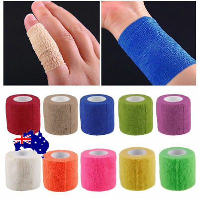 Kinesiology Self-Adhering Bandage Wraps Elastic Adhesive First Aid Tape S4