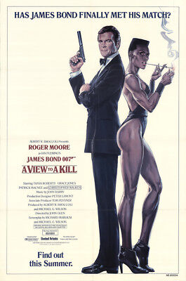 A View To A Kill 1985 27x41 Orig Movie Poster FFF-14941 Fine, Very Fine