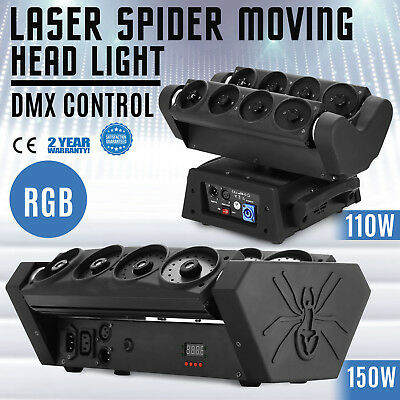 Laser Projector LED RGB Light Stage Lighting Show For Party DJ Disco DMX