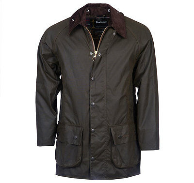 Barbour Mens Classic Beaufort Wax Jacket Mwx0002Ol71 Color: Olive (Size: 36)