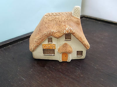 Miniature Model Of A Cafe  By Philip Laureston Babbacombe Pottery