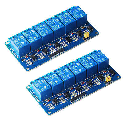 6 Channel DC 3V Relay Module Relay Expansion Board with Optocoupler Insulat N9A3