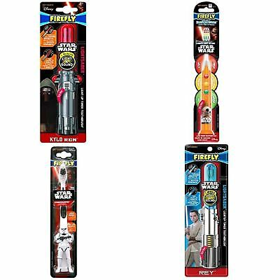 Firefly Star Wars | Lightsaber Flashing Toothbrush Blue/Silver/Red/Black |