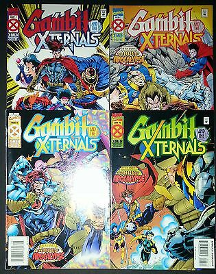 Gambit And The Xternals Complete Set #1-4 X-Men Age of Apocalypse 1995 VF/NM