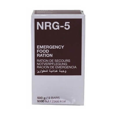 [1,59€/100g] NRG-5 Emergency Food Ration [500g], Notration