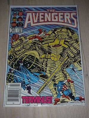 The Avengers #257 VF/Fine 1st appearance of Nebula