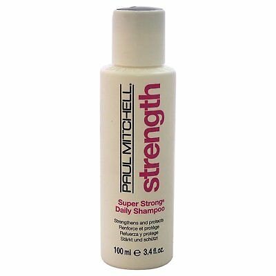 Super Strong Daily Shampoo by Paul Mitchell for Unisex - 3.4 oz Shampoo